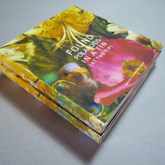 found photography collections handmade books